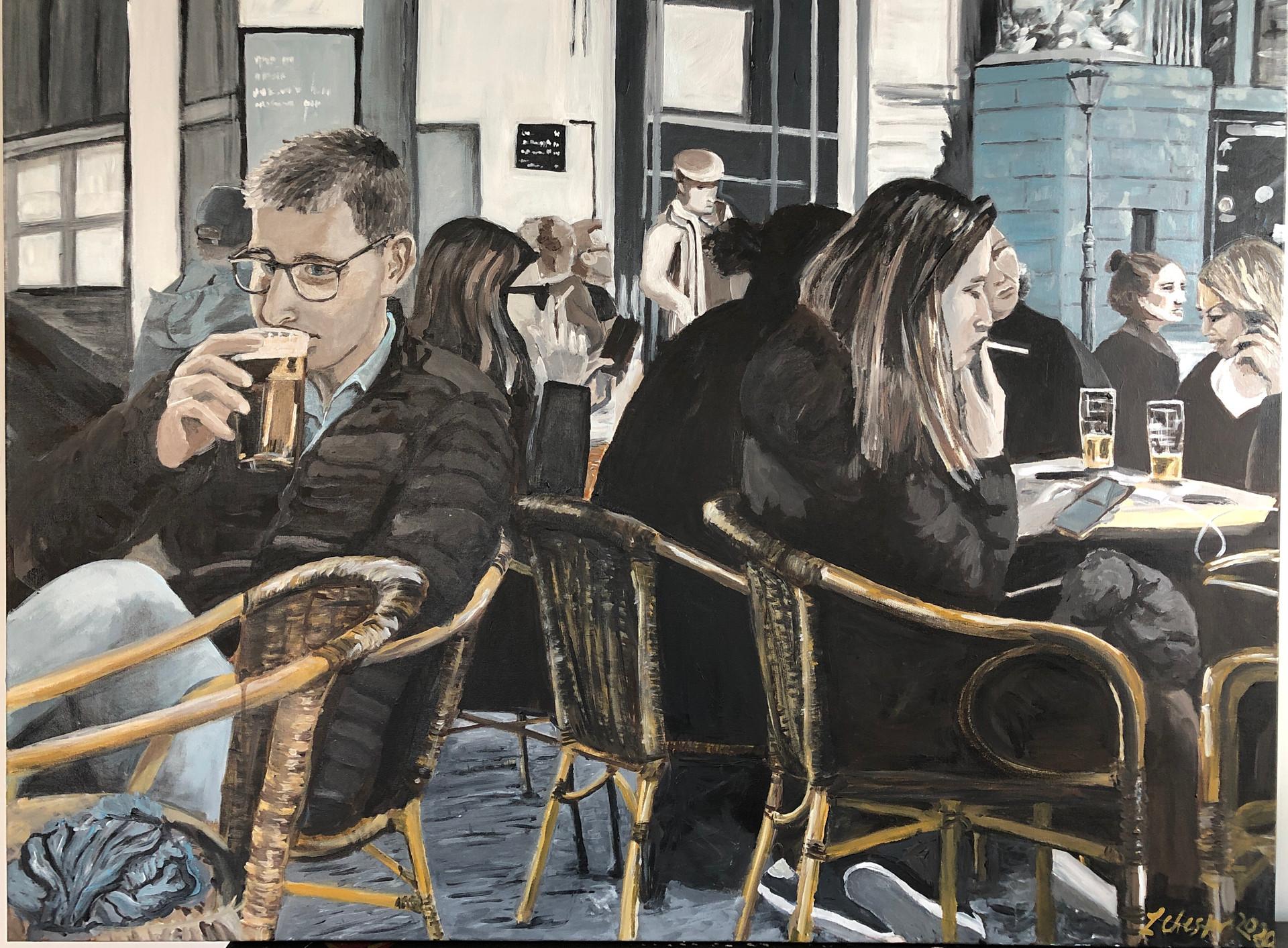 Conversations 5-Rembrandt Plein, Amsterda