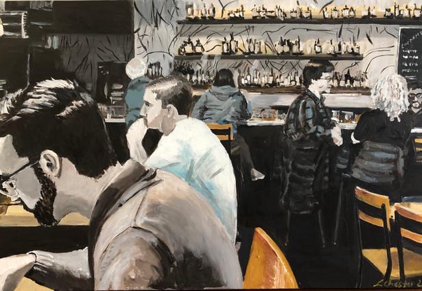 Conversations 4- Whiskey Kitchen, Raleigh