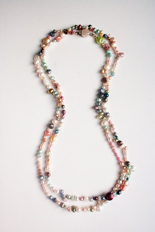 Sanibel Island Pearl Necklace