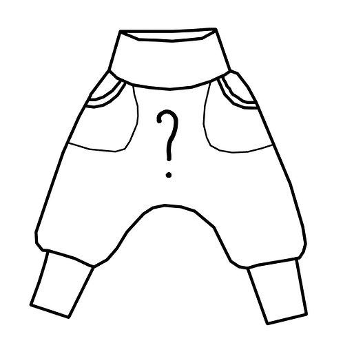 Sarouel Tissu au choix