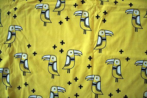 Jersey toucans - 68x60cm