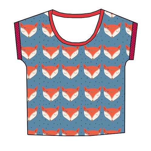 Tee-shirt Renards bohème