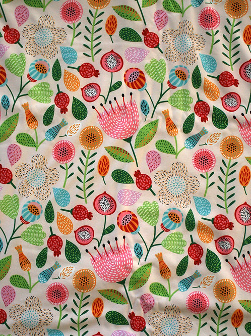 Softshell fleurs 1mxlaize