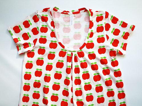 Duo mère/enfant pommes