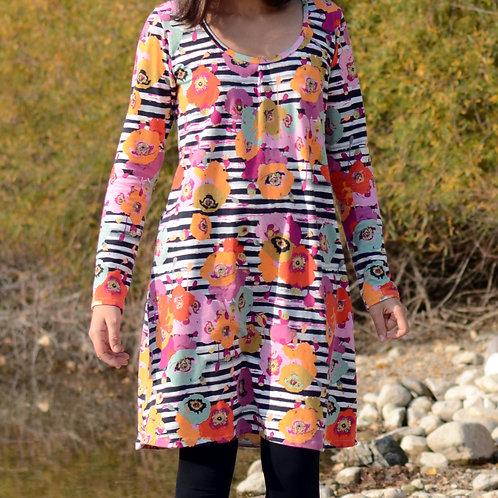 Robe ML femme fleurs - 44