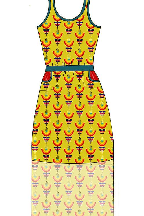 Robe Kila Fleurs arc-en-ciel - 34-46