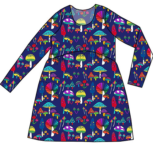 Robe Gaya Champignons colorés - 34-52