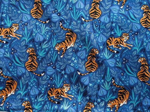 Jersey tigres - 67x130cm (laize)