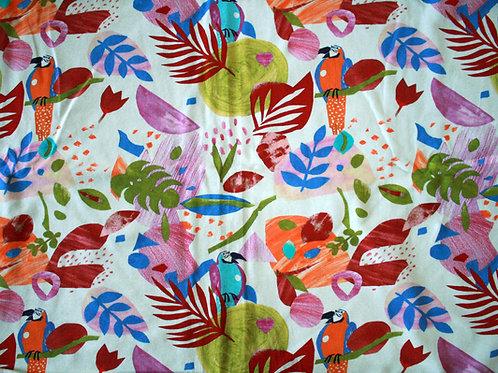Jersey perroquets - 37x150(laize)cm