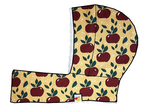 Cagoule évolutive pommes rouges