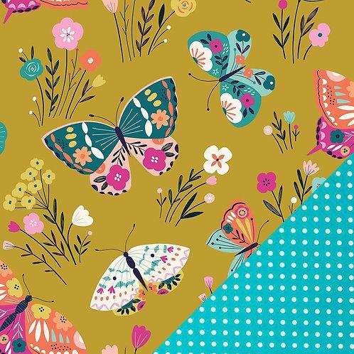 Casquette Papillons - T.U. réglable