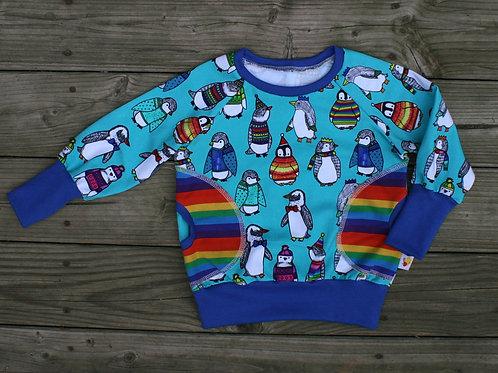 Tee-shirt ML Pingouins