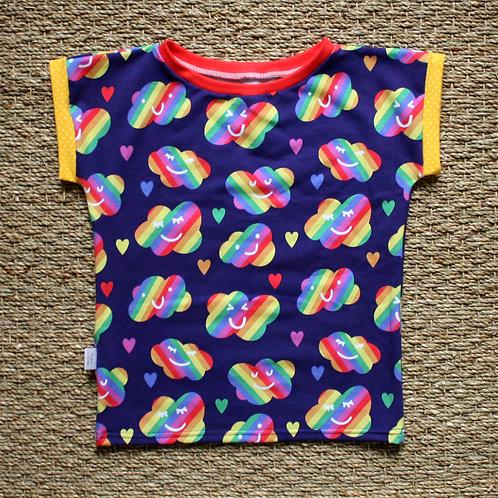 Tee-shirt Happy clouds