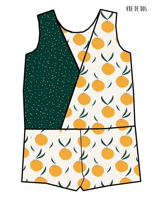 Combishort Oranges