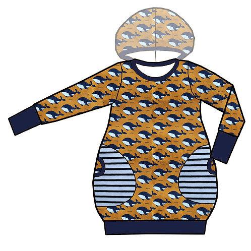 Robe ML Baleine bleue