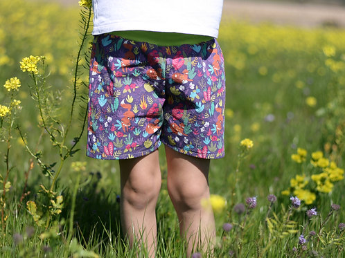 Short ou Pantalon en coton Renards