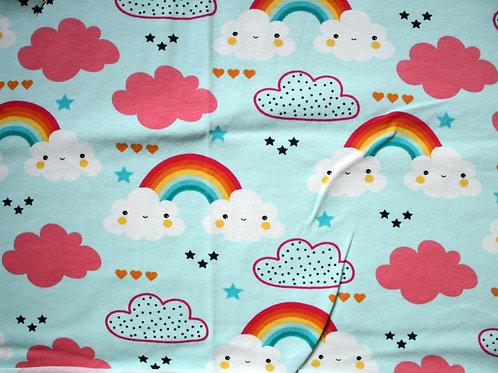 Jersey rainbow  - 20x90cm