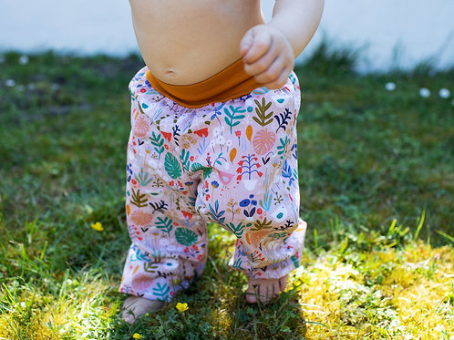 Short ou Pantalon en coton Nature