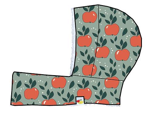Cagoule évolutive pommes oranges