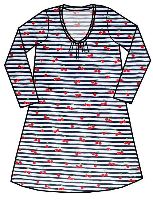 Robe femme Marinière cerises - 34-52