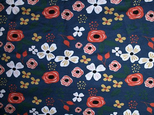 Jersey fleurs - 50x150(laize)cm