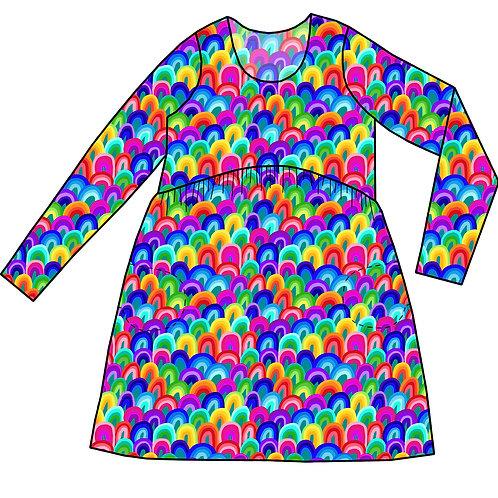 Robe Gaya  Rainbow art- 34-52