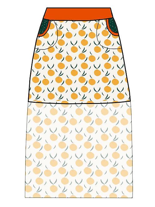Jupe Oranges - 34-52