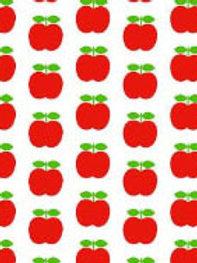 Tee-shirt MC femme pommes - 34-46