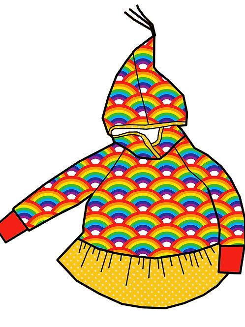 Tunique lutin Rainbow
