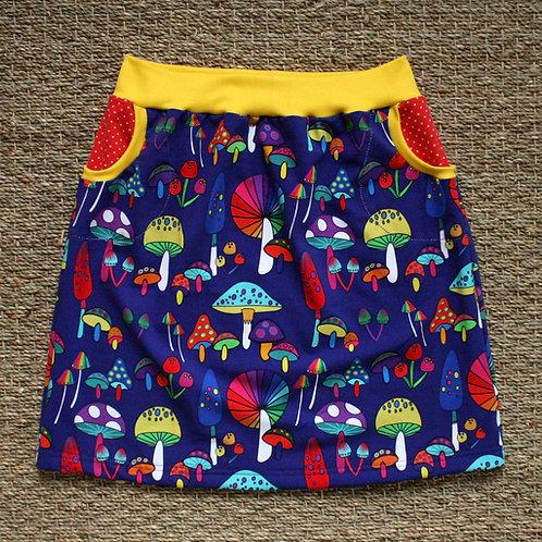 Jupe Champignons colorés - 34-52
