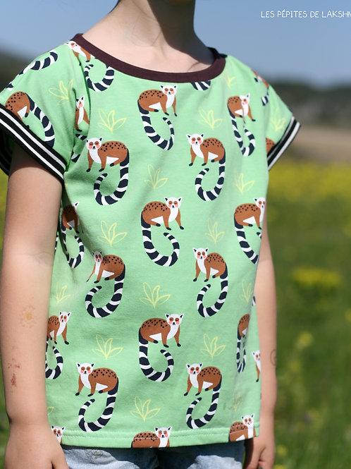 Tee-shirt MC Lémuriens