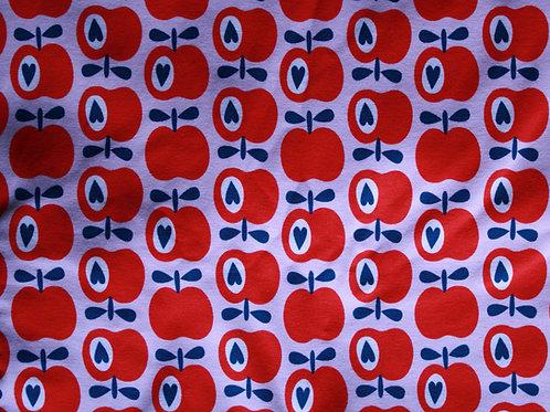Jersey pommes - 160x150cm (laize)