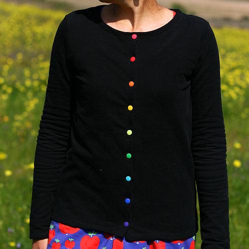 Gilet femme noir - T.36