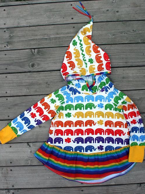 Tunique lutin rainbow elephant