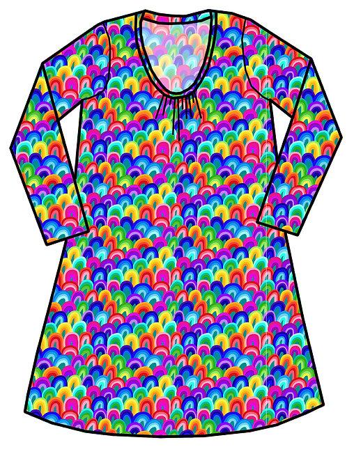 Robe femme Rainbow art - 34-52