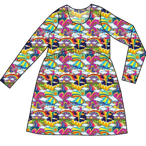 Robe Gaya Rainbowland - 34-52