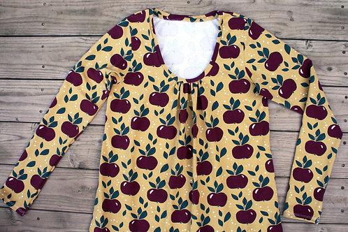Tee-shirt femme pommes rouges - 34-52