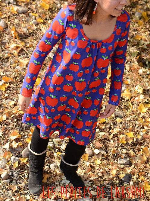 Robe femme pommes - 34-52