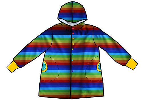 Manteau Rayures colorées