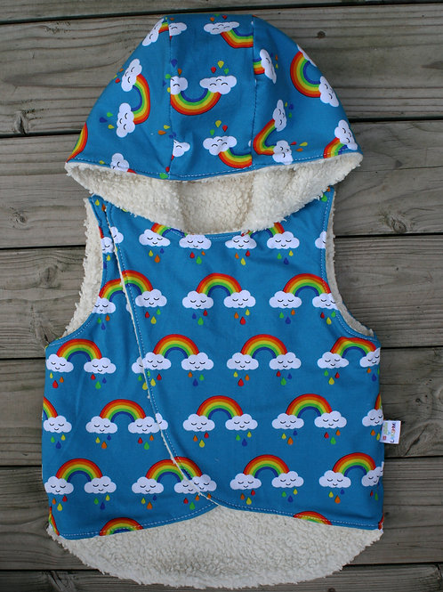Gilet sans manches Rainbows