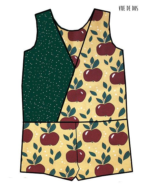 Combishort Pommes rouges