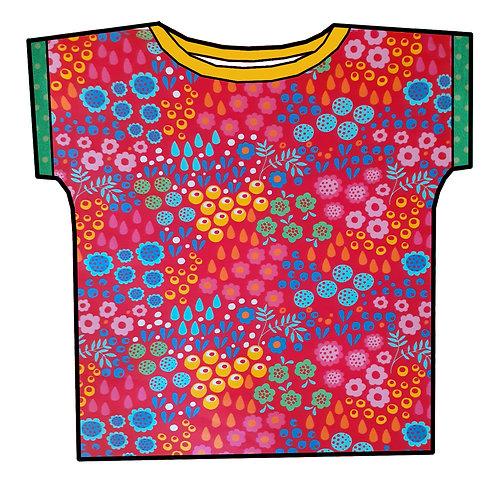 Tee-shirt Fleurs d'été