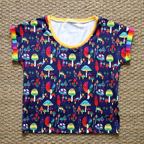 Tee-shirt Champignons colorés
