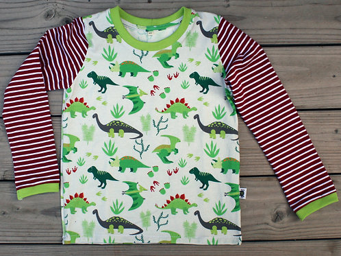 Tee-shirt ML dinosaures - 6 ans