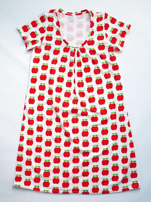 Robe MC femme pommes - 34-46