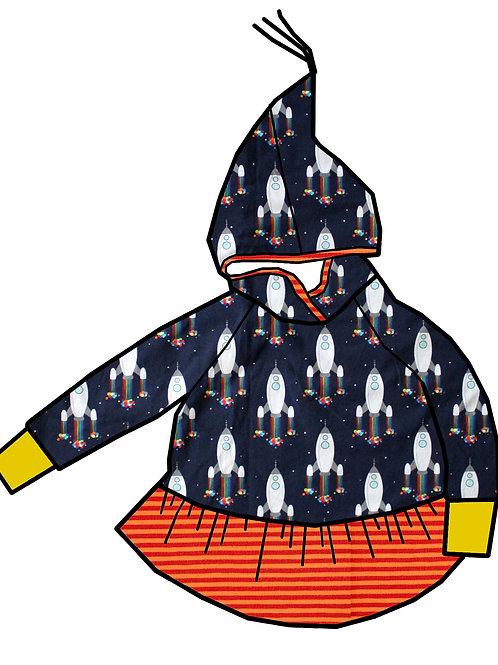 Tunique lutin fusées