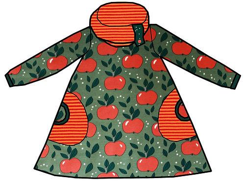 Robe pommes oranges