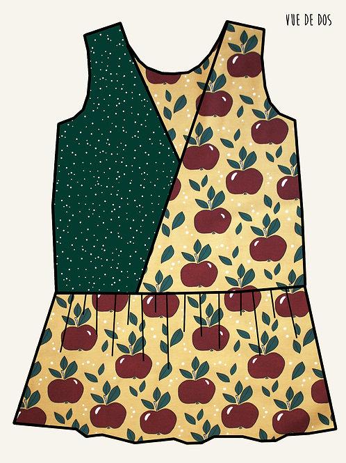 Robe MC pommes rouges