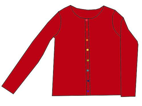 Gilet femme Rouge