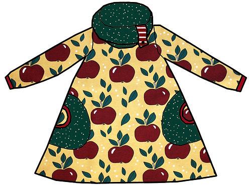 Robe pommes rouges